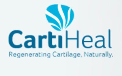 Capture d'écran du logo CartiHeal (Crédit : http://www.cartiheal.com)