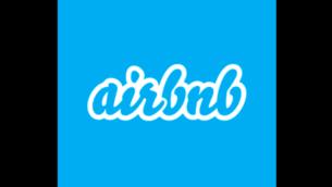 Un des logos de la société Airbnb (Crédit : Capture d'écran page Facebook Airbnb)