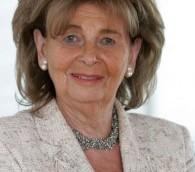 Charlotte Knobloch, directrice de la communauté juive de Munich et déléguée pour la mémoire de l'Holocauste au congrès juif mondial. (Crédit : autorisation)