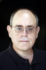 Elliot Jager, l'auteur du 'The Pater' (Crédit : Ariel Jerozolimski)