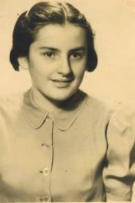 Judith Shaked à Prague avant son départ pour le Danemark, 1939. (Autorisation)