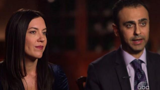 Michele et Joseph Assad, anciens agents de la CIA, ont facilité le sauvetage sur le terrain des réfugiés chrétiens d'Irak vers la Slovaquie. (capture d'écran)