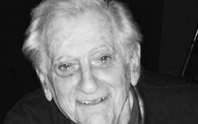 Dr. Robert Berger, qui a discrédité les expériences médicales nazies, est mort en janvier 2016 à 86 ans (Crédit : JTA)