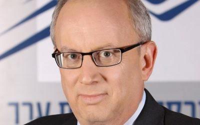 Le président du TASE, Yossi Beinart. (Crédit : autorisation)