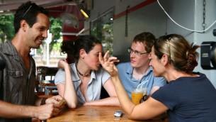 Yousef Sweid (à gauche). (Crédit : Chen Leopold/Flash 90)