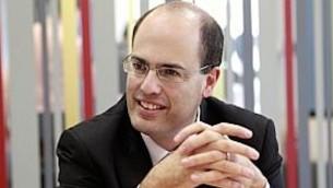 Le scientifique en chef du ministère de l'Economie  Avi Hasson (Crédit : Autorisation)