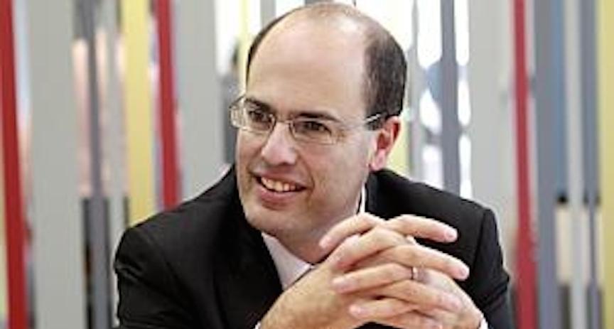 Le scientifique en chef du ministère de l'Economie, Avi Hasson. (Crédit : autorisation)