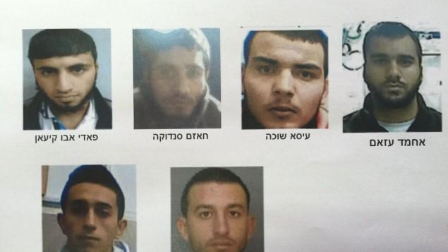 Les principaux activistes du Hamas arrêtés par le Shin Bet pour des suspicions de planification d'attentats suicides et autres attaques terroristes en Israël et en Cisjordanie. (Crédit : autorisation)