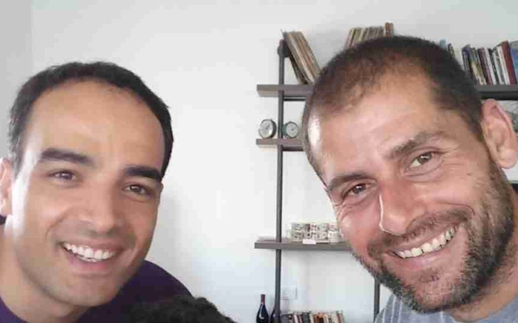 Les cofondateurs de Zaitoun Ventures, Forsan Hussein (à gauche) and Ami Dror (autorisation)
