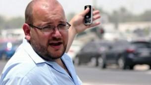 Jason Rezaian, journaliste du Washington Post. (Crédit : capture d'écran: YouTube / Washington Post)