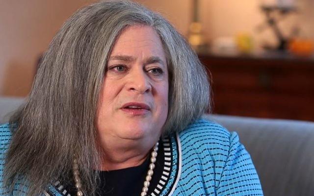 Jennifer Prizker, seule milliardaire ouvertement transgenre, en octobre 2014. (Crédit : capture d'écran Chicago Tribune)