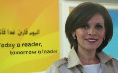 Dr Dalia Fadila, photographiée à Tira. (Crédit : autorisation)