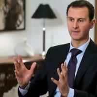 Le président syrien Bashar el-Assad, dans son bureau à Damas, le 12 février 2016.(Crédit : Joseph Eid/AFP)