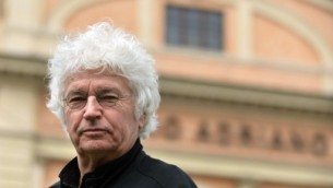 """Jean-Jacques Annaud, le réalisateur du """"Nom de la Rose"""", à Rome le 24 mars 2015.  (Crédit : AFP / TIZIANA FABI)"""