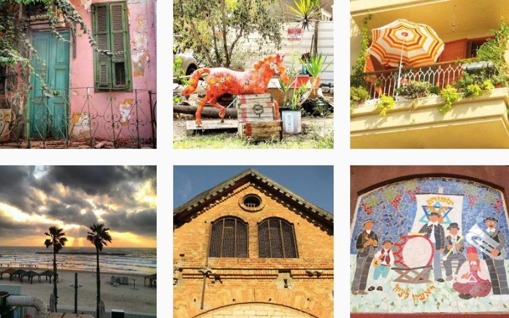 Patchwork de photos postées sur notre compte Instagram (Crédit : www.instagram.com/explore/tags/timesofisraelfr)