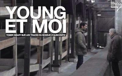 """Documentaire """"Young et moi"""" (Crédit : Facebook/Young et Moi sur les traces du boxeur d'Auschwitz)"""