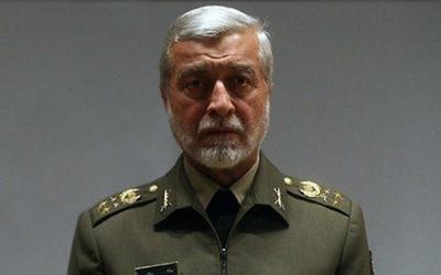 Major General Ataollah Salehi, commandant en chef des Armées iranien depuis 2005. (Crédit : autorisation)