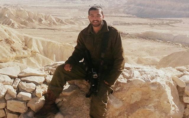 Tuvia Yanai Weissman, 21 ans, soldat de Tsahal qui a été tué dans une attaque au couteau dans un supermarché de Cisjordanie, le 18 février 2016. (Crédit : autorisation)