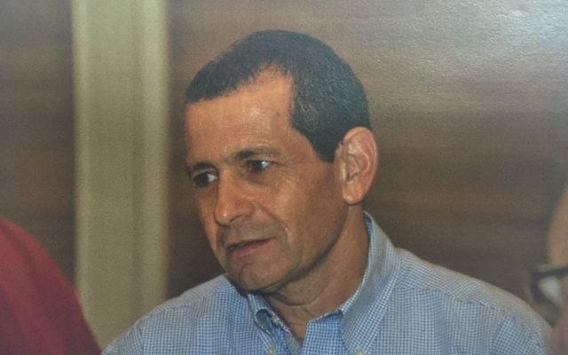 Nadav Argaman a été nommé à la tête du Shin Bet le 11 février 2016 (Crédit : Shin Bet)