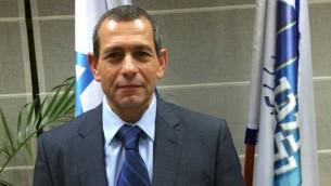 Le prochain chef du Shin Bet Nadav Argaman (Crédit : Shin Bet)