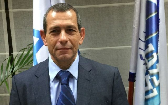 Le chef du Shin Bet, Nadav Argaman (Crédit : Shin Bet)