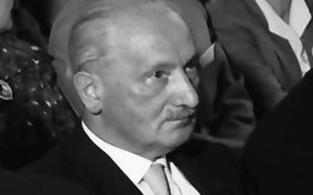 Martin Heidegger (Crédit : CC BY SA 3.0/Wikimedia commons)