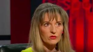 Martina Anderson, députée européenne du Sinn Fein, parti d'Irlande du Nord autrefois rattaché à l'IRA. (Crédit : capture d'écran YouTube)