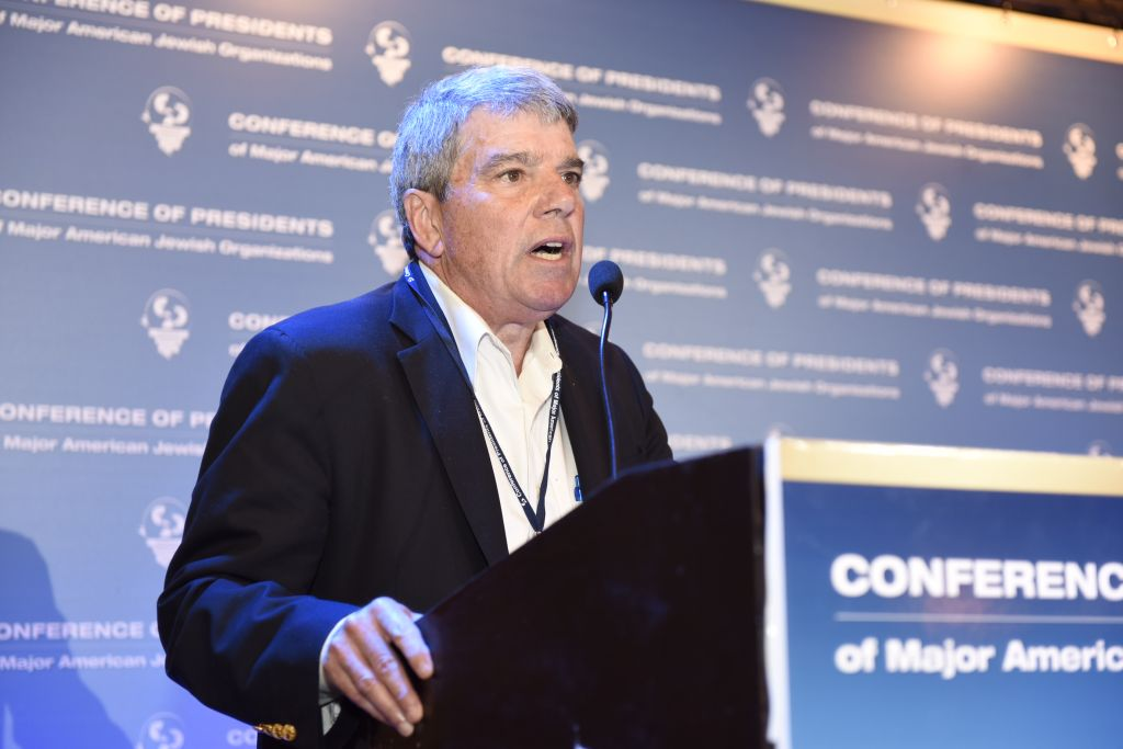Gerald M. Ostrov, le PDG de ReThink Israël (Crédit : Tamir Hayoun)