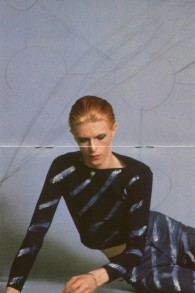 La photo de la couverture de la chanson de David Bowie 'Station to Station'