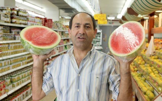 Le magnat israélien Rami Levy, propriétaire d'une chaîne de supermarché (Crédit : Yossi Zamir/Flash90)