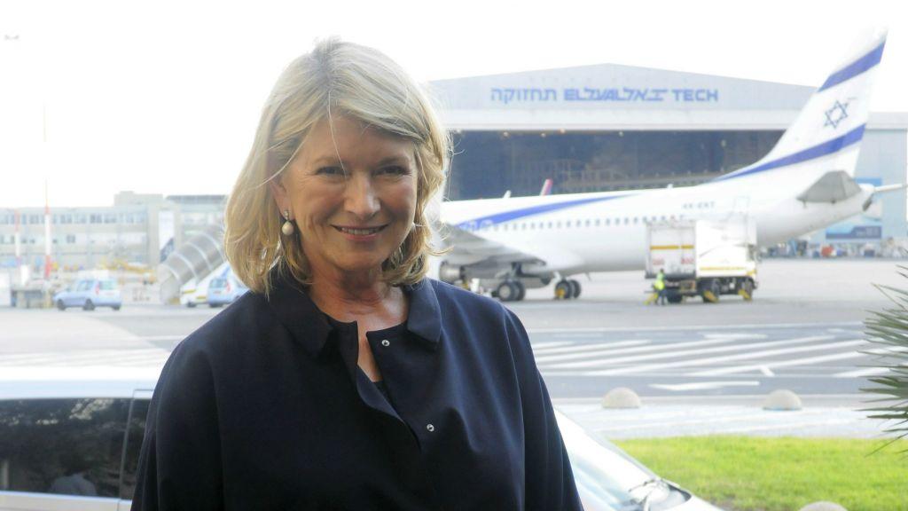 Lorsque des célébrités comme Martha Stewart visite Israël grâce à des voyages parrainés par le ministère, ils créent un buzz positif, selon un porte-parole du ministère du Tourisme (Crédit : Flash 90)