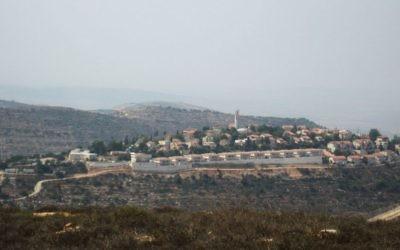 Beit Horon en 2010 (Crédit : Joshua Davidovich/Times of Israel)