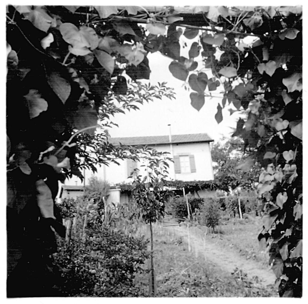 La Maisonette. Vue de l'arrière du bâtiment de Labarde, où Moriz, Grete et Slava ont trouvé refuge. (Crédit : autorisation)