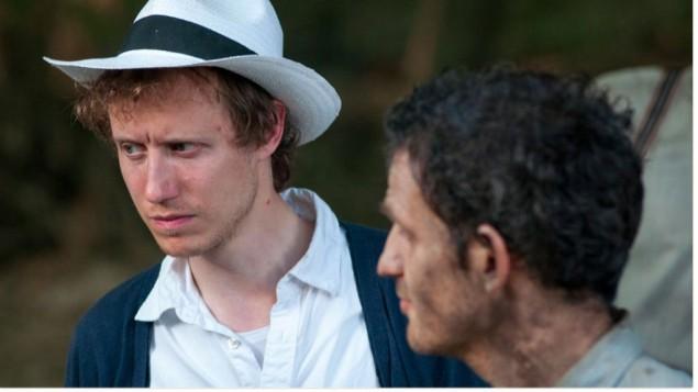 Le réalisateur juif, né en Hongrie, László Nemes sur le plateau de 'Son of Saul.' (autorisation)