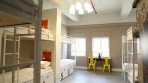 Des lignes épurées et un bon éclairage dans  les chambres de style dortoir de l'auberge The Post (Autorisation: The Post)