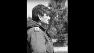 Avigdor Ben-Gal pendant la guerre en 1973. (Crédit : archives de l'armée israélienne)