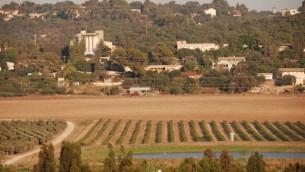 Le kibboutz de Shaar HaAmakim en 2008 (Crédit : John Dodo/WikiCommons)