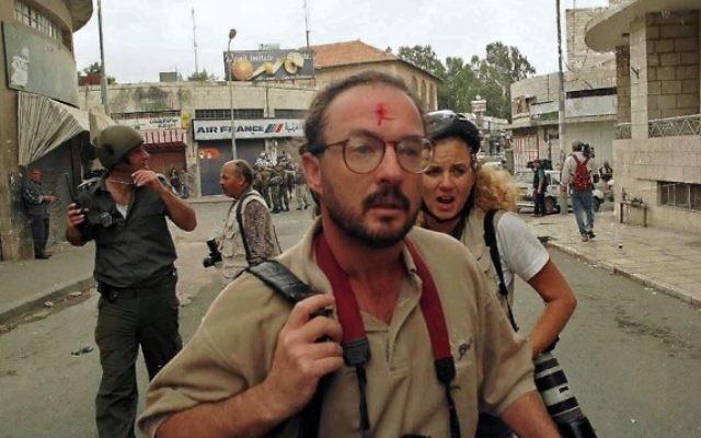 Brian Hendler à Jérusalem est. (Crédit : Facebook)