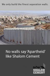 Une publicité figurant dans la fausse édition anti-israélienne du New York Times distribuée à New York le 2 février 2016.