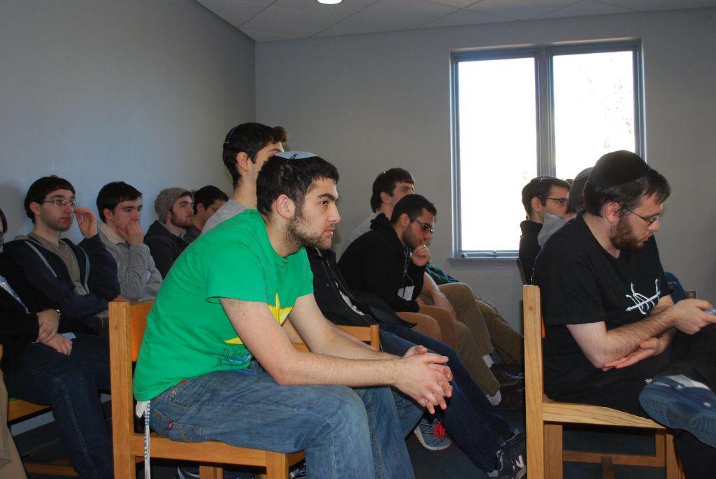 Les participants au Hackathon à une conférence à l'université du Maryland, du 12 au 14 février (Crédit : Autorisation)