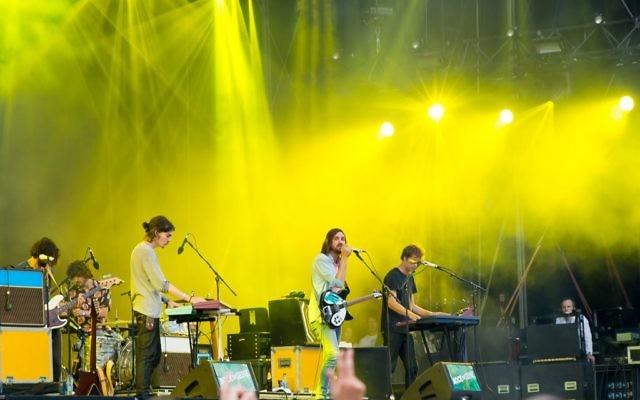 Tame Impala en concert au festival Rock en Seine, le 31 août 2015 à Paris, en France (Crédit : Image Tame Impala via Shutterstock)