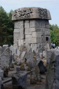 Un mémorial de nos jours à Treblinka. (Crédit : Judah Ari Gross/The Times of Israel)