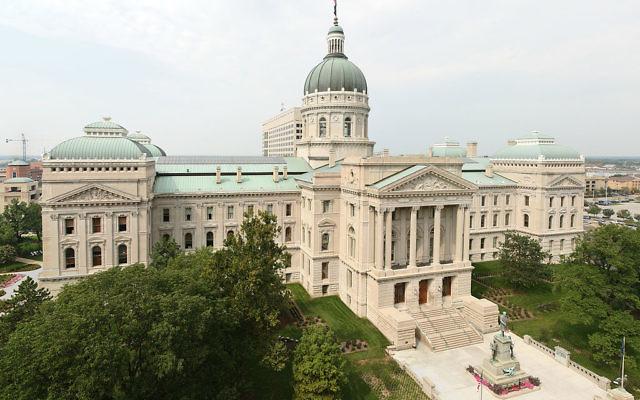 La chambre des représentants de l'Etat d'Indiana (Crédit : Massimo Catarinella/CC-BY-SA-3.0)