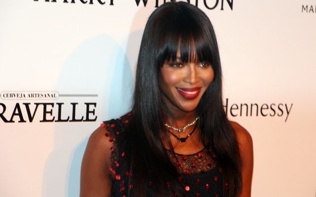 Naomi Campbell (Crédit : Wikimedia commons)