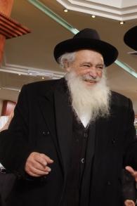 Le rabbin Avigdor Nebenzahl (Crédit : Ben-Zion Levy / Wikipedia)