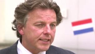 Bert Koenders, le ministre des Affaires étrangères des Pays Bas (Crédit : Capture d'écran YouTube)