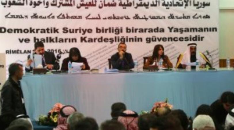 Les kurdes syriens veulent ouvrir un bureau de représentation en