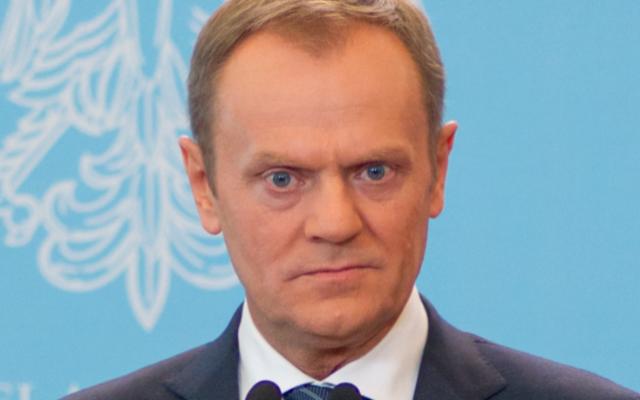 Donald Tusk, président du Conseil européen, en 2014 (Crédit : Wikimedia Commons)