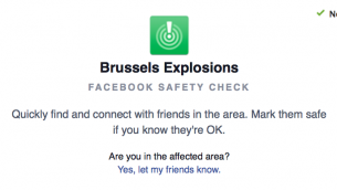 Facebook met à disposition l'outil israélien SafetyCheck