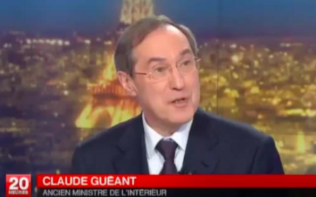 Claude Guéant en 2013 (Crédit : capture d'écran France 2)